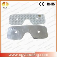 5V DC Pet aluminium foil heater with 3M adhesive