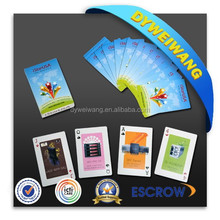 3d lenticular playing cards