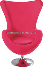 Modern Classic red princess girl leisure chair/home chair/egg chair sofa