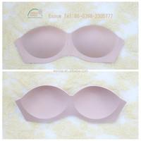 YS8853 2015 Wholesale Sexy Fashion Soft Fabric Molded Nude Foam Bra Pads