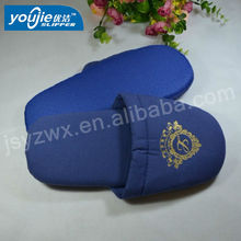 thick sponge sole men's comfortable soft hotel slippers