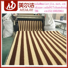 2015 hot sale pvc stripe mat,waterproof carpet,anti-slip mat