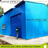High Quality Steel Structure Prefaricated Warehouse Construction Cost