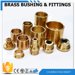 brass pipe fitting reducer bush bimetal flanged guide bush male/female bsp bush