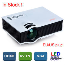 2015 Original UNIC UC40 Mini Pico portable Projector with USB HDMI For Home Theater beamer multimedia proyector Korean Russian
