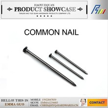 all sizes steel common flat shank wire nails, construction nail