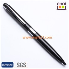 super stylish black metal stylus touch screen capacitive ballpoint pen for notebook and smart board