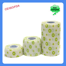 China Patterned Mds Printed Hospital Dressing Cohesive Bandage