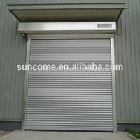 aluminum oversize exterior roll up rolling door manufacture