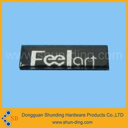 clear resin label fert