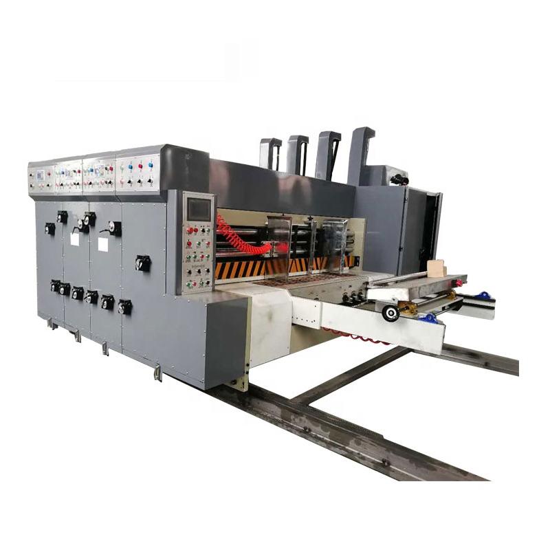 Caja automática ranuradora de impresión morir máquina de corte