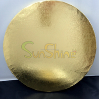 Gold and silver foil coated mdf Cake Boards,Cake Tray,Cake Circle