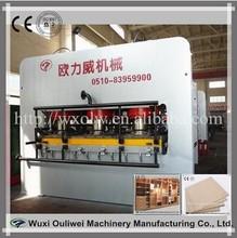Melamine laminated plywood board furniture press machine