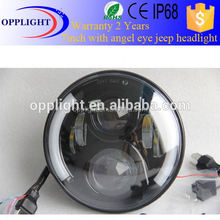 semi sealed beam headlight DOT sae headlight with daytime running light led lamp offroad motocycle