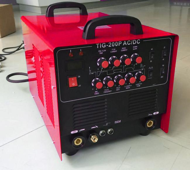 super 200p ac dc pulse tig aluminum welder machine