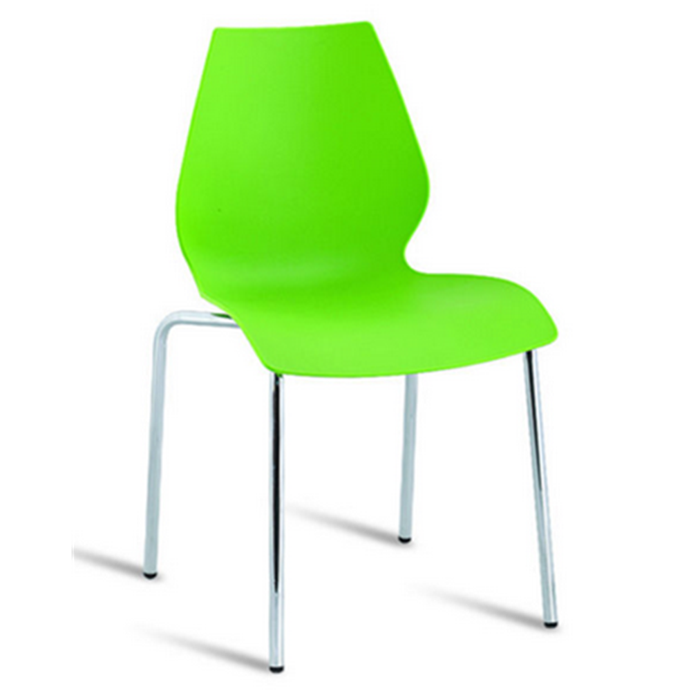 wholesale cheap prices colored plastic chairs with metal legs buy