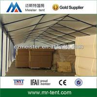 Temporary aluminum storage tent warehouse tent