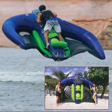 water ski inflatable manta ray / flying water sports manta ray / inflatable flying tube manta ray