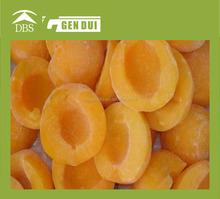 IQF frozen yellow peach half frozen peaches organic