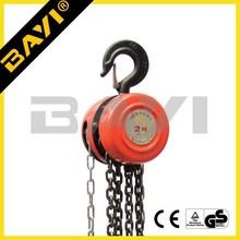 HS-A type construction 1t/2t/3t chain block, 2 ton chain hoist, chain hoist block for sale