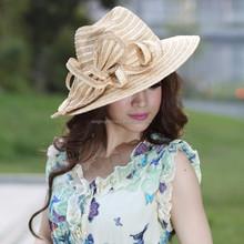 Fashion women straw cowboy hat