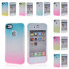 New 2 Colour Gradient Gel Tpu Silicone Back Case Cover For iPhone 6 plus 6 5 5S 5c