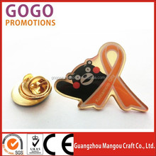 custom fashion design volunteer team lapel pin,Fashion cheap best buy customer service pin, Excellent award die struck lapel pin