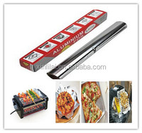 aluminium foil roll for food packaging cooking baking freezing