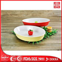 high quality microwave safe ceramic oval bakeware