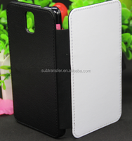 Sublimation PU leather Phone Case for SamSung Note3