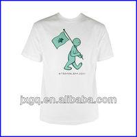 WUPC348 white men fashion t shirt wholesale cheap price in high quality 100 cotton custom men t shirt