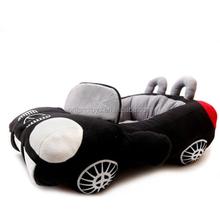 car shaped folding leather princess waterproof dog beds
