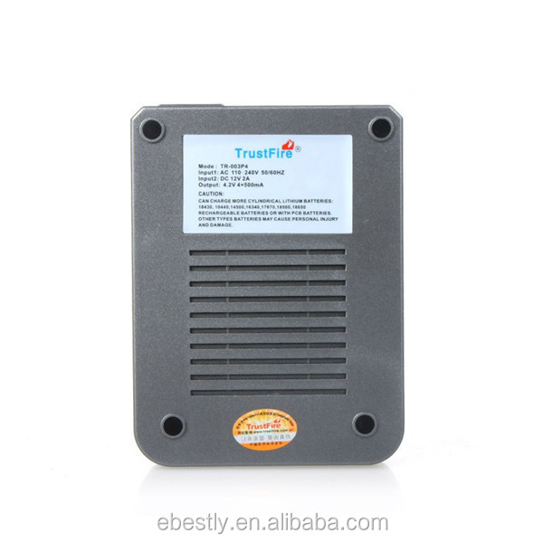 hot sale quad 18650 Lithium Battery Charger