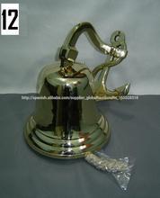 Campana ancla náutica, ancla de latón de campana, campanas náuticas, campanas decoración de la pared, las campanas de barco