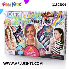 Kids Craft DIY Hair&Body Tattoo Kits