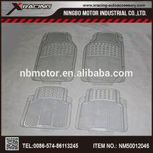 lf Fashion universal design car rubber mat,Piece Clear Premium Vinyl Floor Mats