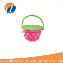2015 NEW PRODUCT portable plastic bucket, water pail, cheap bucket hats carry on