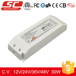 triac dimmable constant voltage led driver driver for led chip 30w 12v