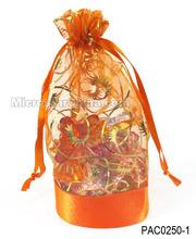 Colourful Organza Bag Bottom Heart Shape Organza Bag