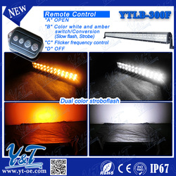DiscountIP67 traffic safety equipment/dot approved led light bar/amber led warning lights bar with wireless remote control