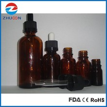 5ml, 10ml, 15ml, 20ml, 30ml, 50ml,100ml,glass dropper bottle, glass e liquid bottle, essential oil bottle