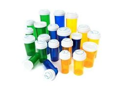 Pop Top Vial Containers jars bottles medicine pill containers