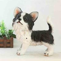Fairy Garden Animals Resin Rottweiler Puppy Mini Dog
