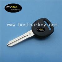 Topbest key blank key car for Chevrolet PK3 transponder key blank
