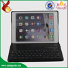 alibaba hot selling new product pu leather tablet case with removable wireless bluetooth keyboard for ipad air