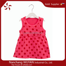 Wholesale Baby Cotton Dresses Designs 100% Cotton,Baby Girl Frock For Summer