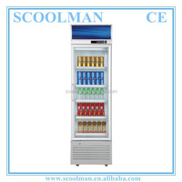 Commercial Soft Drink Single Door Display Fridge