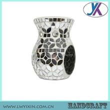 Home decor candle holder potpourri mosaic glass incense bulk oil burners