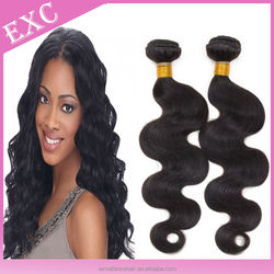 100% Unprocessed raw indian hair wholesale no tangle no shed human hair weave wholesale
