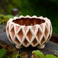 Wholesale unique ceramic flower pot garden decoration